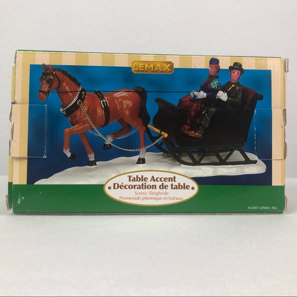 Lemax village collection Scenic Sleighride